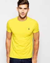 Polo Ralph Lauren T-shirt With Logo - Yellow