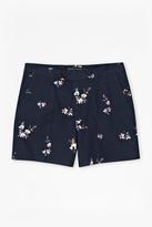 Blossom Twill Printed Shorts