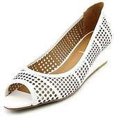 French Sole Womens Nerve Leather Open Toe Formal Platform Sandals.
