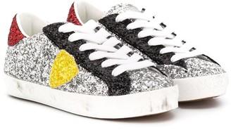 Philippe Model Kids Colour Block Low-Top Sneakers