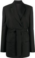 Acne Studios half-lined belted jacket