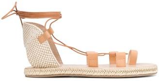 Ancient Greek Sandals Esmeralda lace-up sandals