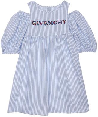 Givenchy Striped Cotton Poplin Dress