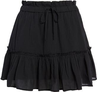 BP Tiered Ruffle Miniskirt