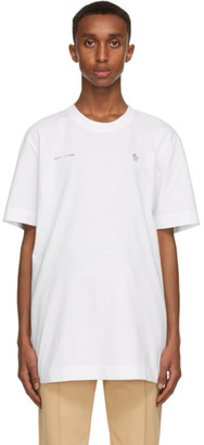 MONCLER GENIUS 6 Moncler 1017 ALYX 9SM White Logo T-Shirt