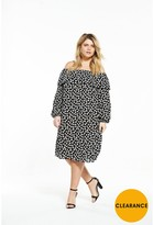Alice & You Bardot Dress - Daisy Print