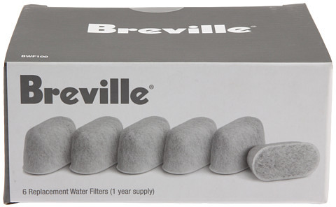 Breville BWF100 Water Filters 6-Pack