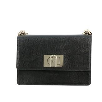 Furla Mini Bag Ares Shoulder Bag In Textured Leather