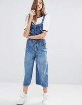 Pull&Bear Cropped Overall