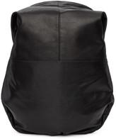 Côte and Ciel Black Leather Nile Backpack