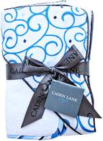 Caden Lane Luxe Collection Swirl Hooded Towel Set
