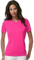 Hanes Women's Cool DRI V-Neck T-Shirt Women's Tops