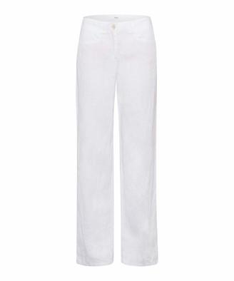 Brax Women's Style Farina Leinenhose mit legerer Silhouette Trouser