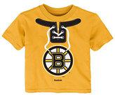 Reebok Toddler Boston Bruins Lace-Up Graphic Tee