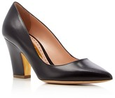 Rupert Sanderson Pierrot Leather Pointed Toe Pumps