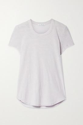 James Perse Slub Supima Cotton-jersey T-shirt - Lilac