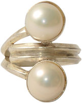 One Kings Lane Vintage Mabe Pearl Silver Ring