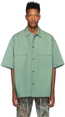 Fear Of God Green Nylon Oversized Shirt