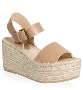 Soludos Minorca Leather High Platform Sandals