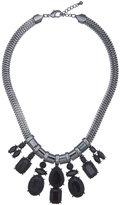 ELOQUII Plus Size Rhinestone Bib Necklace