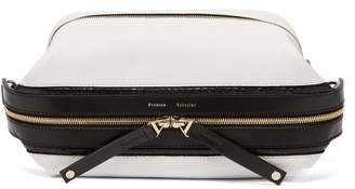 Proenza Schouler Two-tone Grained-leather Belt Bag - Womens - White Multi