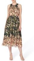 Catherine Malandrino Women's Alfie Print Fit & Flare Midi Dress