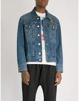 Anglomania New D. Ace logo-print denim jacket