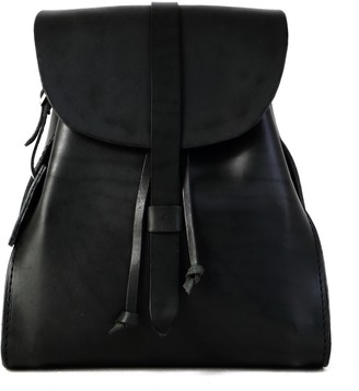 The Dust Company Mod 130 Backpack in Cuoio Black