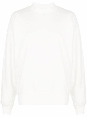 Anine Bing Saint oversized-fit cotton sweatshirt