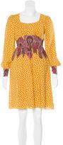 Tibi Paisley Mini Dress