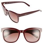 Chloé Women's 'Boxwood' 55Mm Sunglasses - Bordeaux