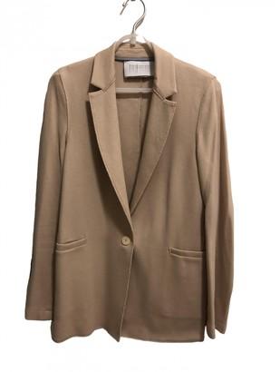 Harris Wharf London Beige Cotton Jackets