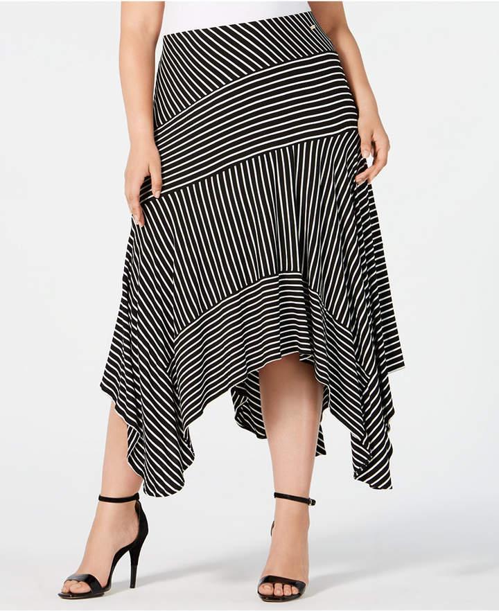 4634c27f88 Plus Size Midi Skirt - ShopStyle