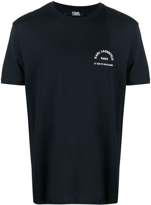 Karl Lagerfeld Paris chest logo T-shirt
