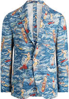 Ralph Lauren Morgan Surfer Linen Sport Coat