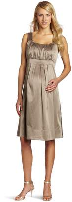 Ripe Maternity Women's Alexis Satin Dress