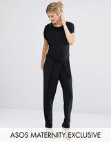 Queen Bee Cowl Neck Jumpsuit