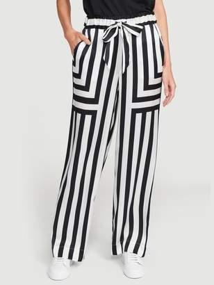 Frame Silk Mix Stripe PJ Pant