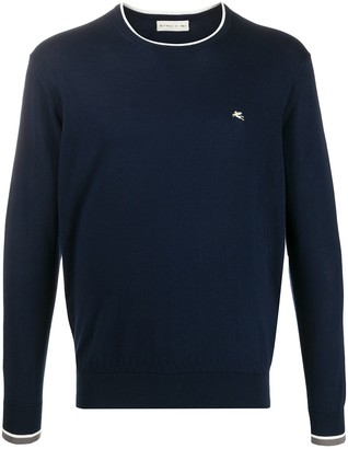 Etro Contrast-Trim Sweater