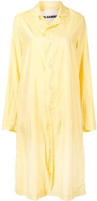 Jil Sander Oversized Fluid Trench Coat