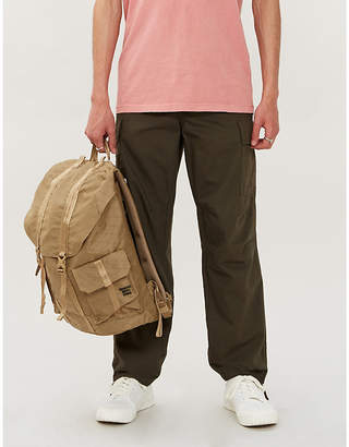 PACSUN Relaxed-fit cotton cargo trousers
