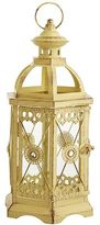 Pier 1 Imports Jewel Hexagon Lantern - Yellow Small