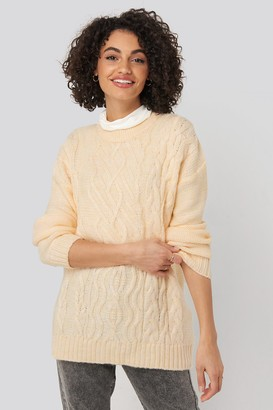 Trendyol Cycling Collar Knitted Sweater Pink