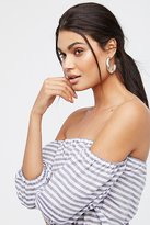 Free People Crescent Sun Half Hoops