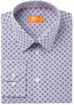Tallia Men's Fitted Floral Print Dress Shirt
