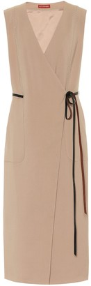Altuzarra Cather stretch-wool midi dress