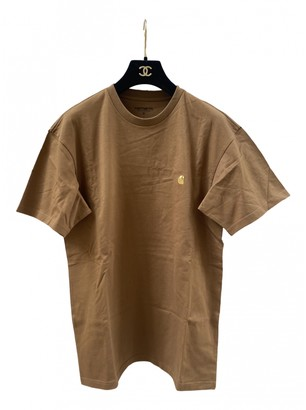 Carhartt Camel Cotton T-shirts