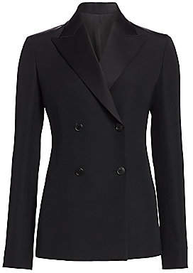 The Row Women's Zori Double Breasted Jacket - Size 0