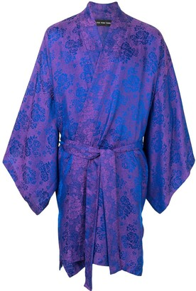 Lisa Von Tang Tie-Waist Draped Jacket