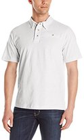 English Laundry Men's Short Sleeve Organic Cotton Polo